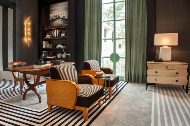 Casa Cor SP - Living do apartamento do casal por Toninho Noronha