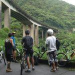 Ciclistas na Rota Márcia Prado